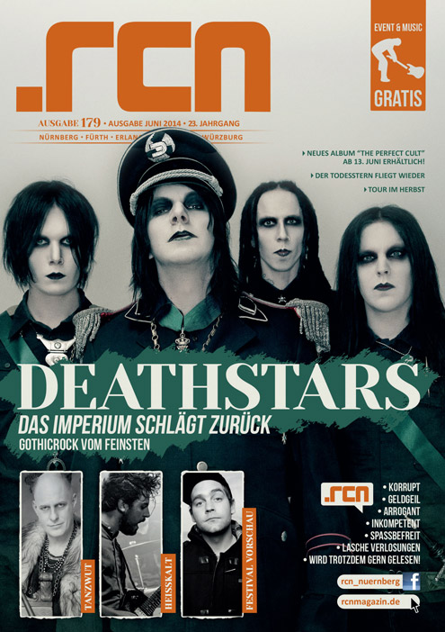 Deathstars on the cover of RCN Magazine